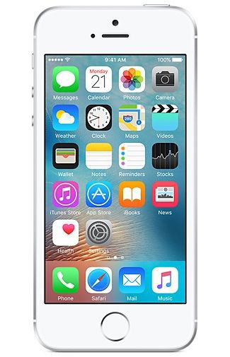 Productafbeelding van de Apple iPhone SE 2016 16GB Silver Refurbished
