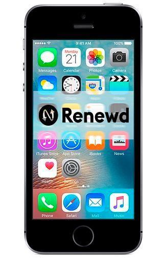 Productafbeelding van de Apple iPhone SE 32GB Black Refurbished