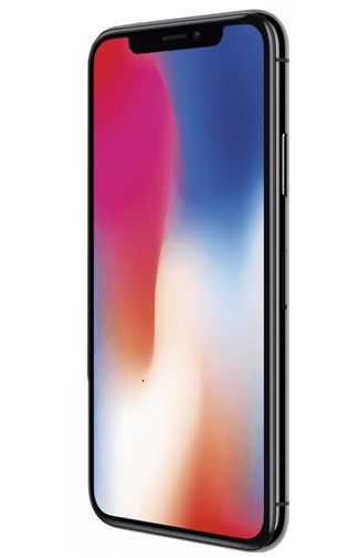 Productafbeelding van de Apple iPhone X 256GB Black