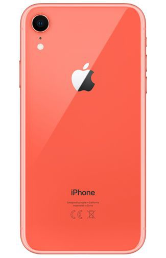 Productafbeelding van de Apple iPhone XR 128GB Coral