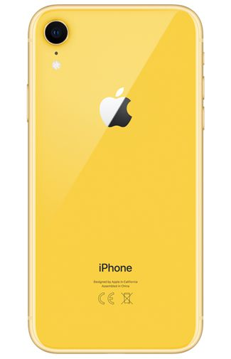 Productafbeelding van de Apple iPhone XR 64GB Geel Refurbished
