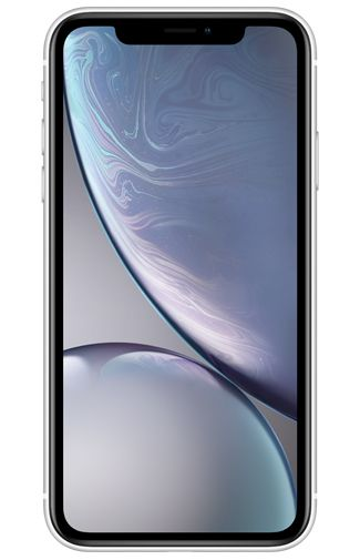 Product image of the Apple iPhone XR 64GB White Refurbished