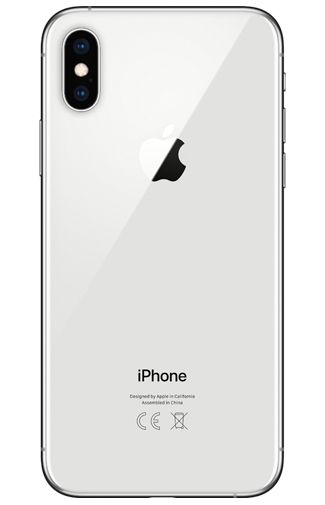 Productafbeelding van de Apple iPhone XS 256GB Zilver Refurbished