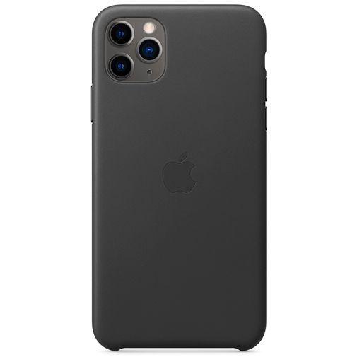 Productafbeelding van de Apple Leather Case Black iPhone 11 Pro Max