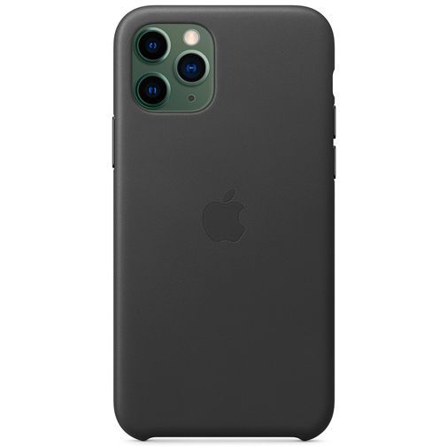 Productafbeelding van de Apple Leather Case Black iPhone 11 Pro