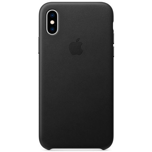 Productafbeelding van de Apple Leather Case Black iPhone XS