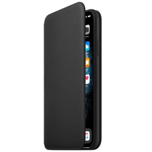 Productafbeelding van de Apple Leather Folio Case Black iPhone 11 Pro Max