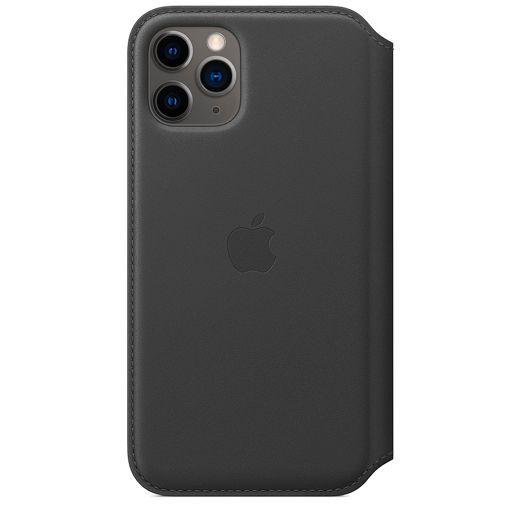Produktimage des Apple Leder Folio Case Schwarz iPhone 11 Pro