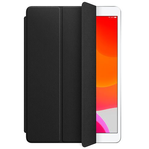 Produktimage des Apple Leder Smart Cover Schwarz iPad Air 2019/iPad 2019