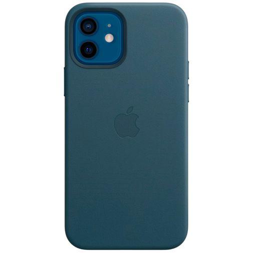 Productafbeelding van de Apple MagSafe Leren Back Cover Blauw Apple iPhone 12/12 Pro