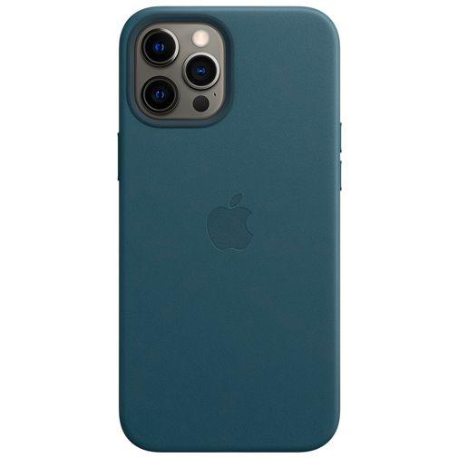 Productafbeelding van de Apple MagSafe Leren Back Cover Blauw Apple iPhone 12 Pro Max