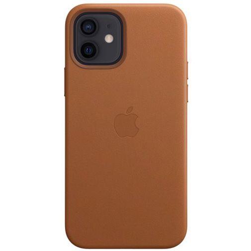 Productafbeelding van de Apple MagSafe Leren Back Cover Bruin Apple iPhone 12/12 Pro