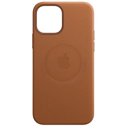 Productafbeelding van de Apple MagSafe Leren Back Cover Bruin Apple iPhone 12 Pro Max