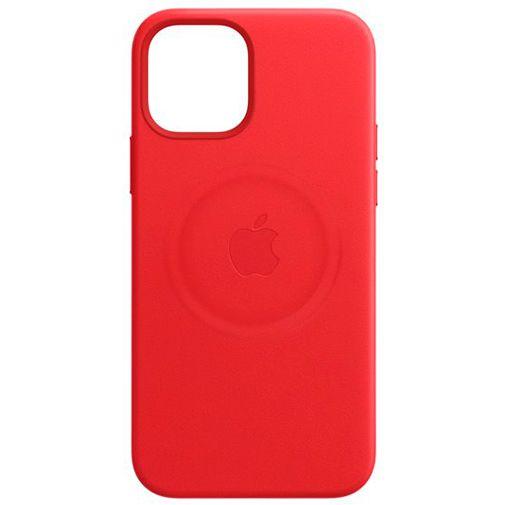 Productafbeelding van de Apple MagSafe Leren Back Cover (PRODUCT)RED Apple iPhone 12/12 Pro