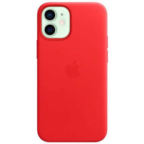 Productafbeelding van de Apple MagSafe Leren Back Cover (PRODUCT)RED Apple iPhone 12 Mini