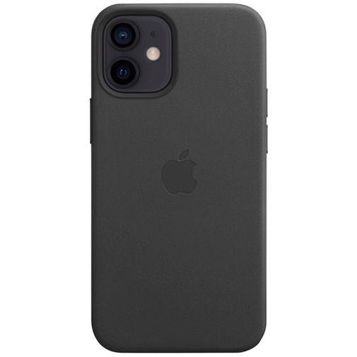 Productafbeelding van de Apple MagSafe Leren Back Cover Zwart Apple iPhone 12 Mini