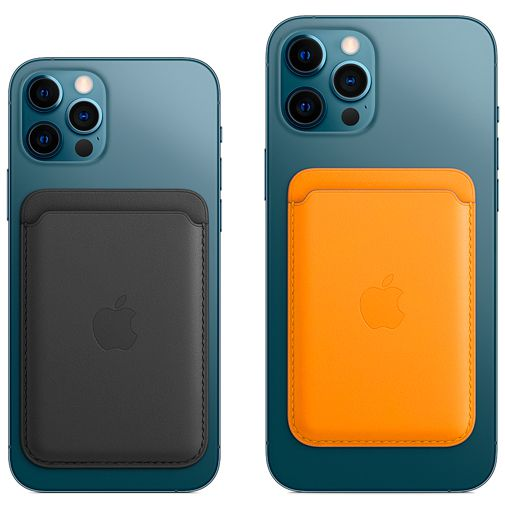 Productafbeelding van de Apple MagSafe Leren Kaarthouder Apple iPhone Bruin