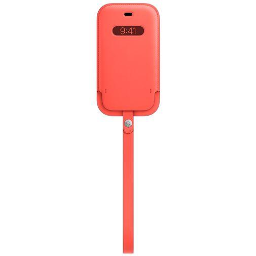 Productafbeelding van de Apple MagSafe Leren Tasje Apple iPhone 12 Mini Roze