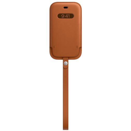 Productafbeelding van de Apple MagSafe Leren Tasje Bruin Apple iPhone 12 Mini