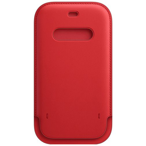 Productafbeelding van de Apple MagSafe Leren Tasje Rood Apple iPhone 12/12 Pro