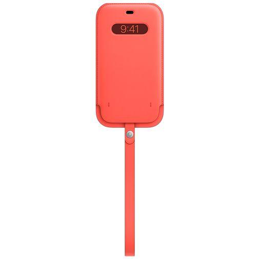 Productafbeelding van de Apple MagSafe Leren Tasje Roze Apple iPhone 12 Pro Max