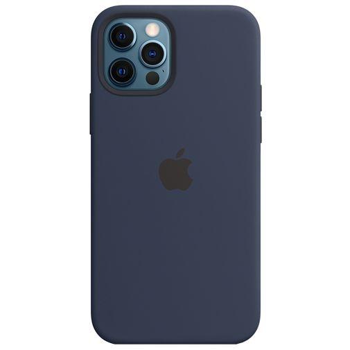 Productafbeelding van de Apple MagSafe Siliconen Back Cover Apple iPhone 12/12 Pro Blauw