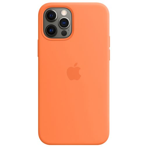 Productafbeelding van de Apple MagSafe Siliconen Back Cover Apple iPhone 12/12 Pro Oranje
