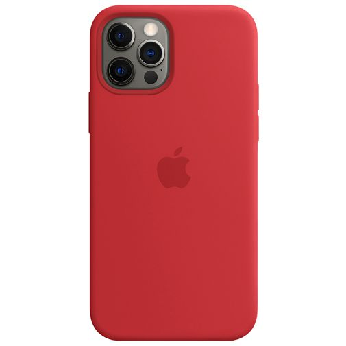 Productafbeelding van de Apple MagSafe Siliconen Back Cover Apple iPhone 12/12 Pro (PRODUCT) RED