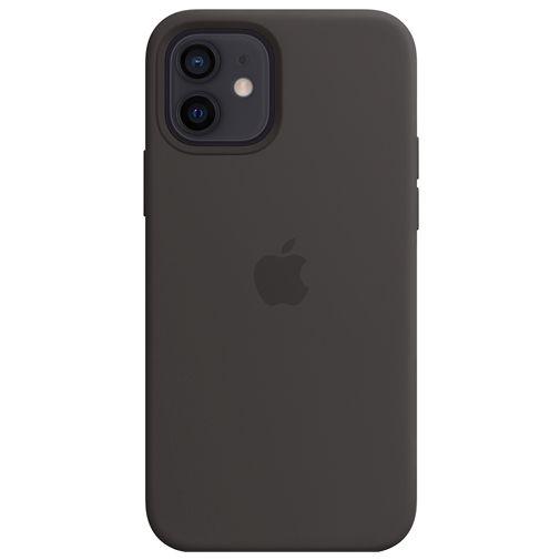 Productafbeelding van de Apple MagSafe Siliconen Back Cover Apple iPhone 12/12 Pro Zwart