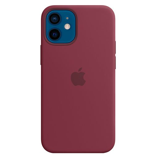 Productafbeelding van de Apple MagSafe Siliconen Back Cover Apple iPhone 12 Mini Paars