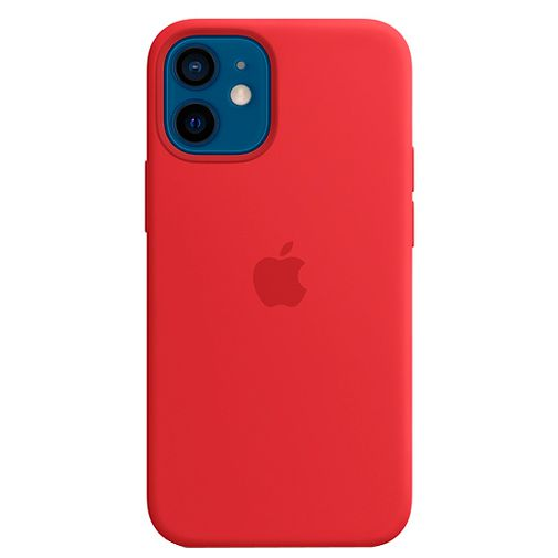 Productafbeelding van de Apple MagSafe Siliconen Back Cover Apple iPhone 12 Mini (PRODUCT) RED