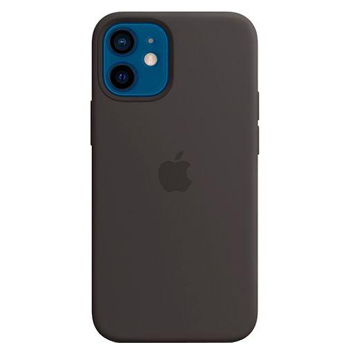 Productafbeelding van de Apple MagSafe Siliconen Back Cover Apple iPhone 12 Mini Zwart
