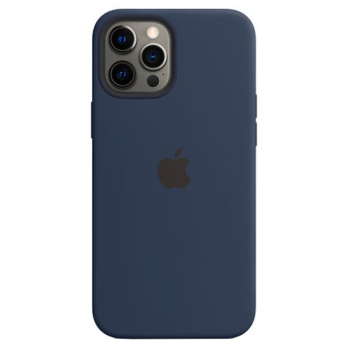 Productafbeelding van de Apple MagSafe Siliconen Back Cover Apple iPhone 12 Pro Max Blauw
