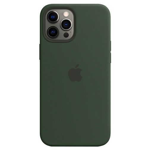 Productafbeelding van de Apple MagSafe Siliconen Back Cover Apple iPhone 12 Pro Max Groen