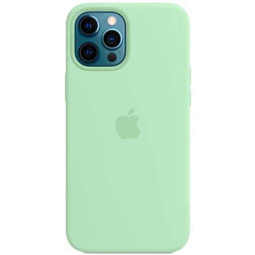 Productafbeelding van de Apple MagSafe Siliconen Back Cover Apple iPhone 12 Pro Max Lichtgroen