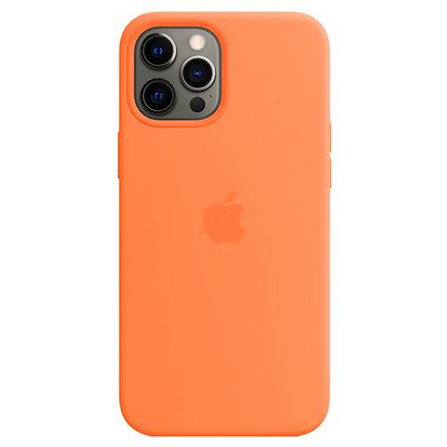 Productafbeelding van de Apple MagSafe Siliconen Back Cover Apple iPhone 12 Pro Max Oranje