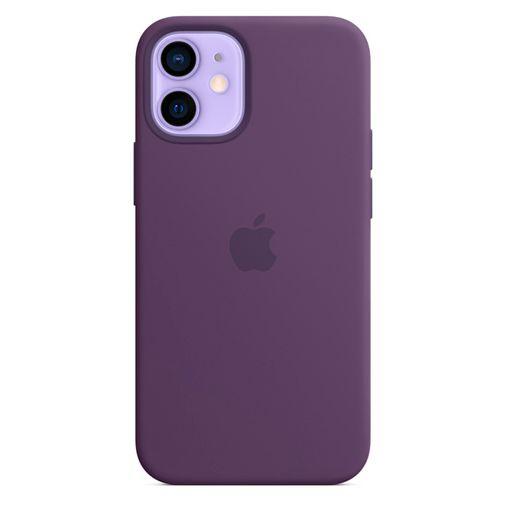 Productafbeelding van de Apple MagSafe Siliconen Back Cover Donkerpaars Apple iPhone 12 Mini