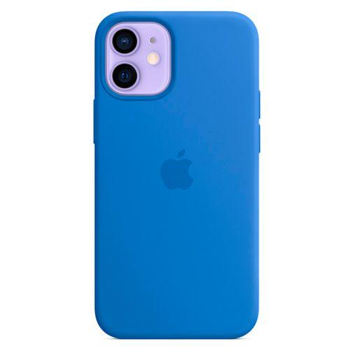 Productafbeelding van de Apple MagSafe Siliconen Back Cover Felblauw Apple iPhone 12 Mini