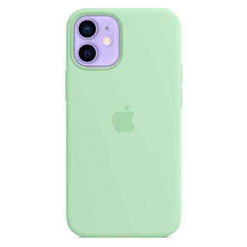 Productafbeelding van de Apple MagSafe Siliconen Back Cover Lichtgroen Apple iPhone 12 Mini