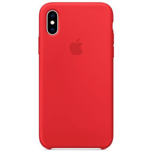 Productafbeelding van de Apple Silicone Case Red iPhone XS
