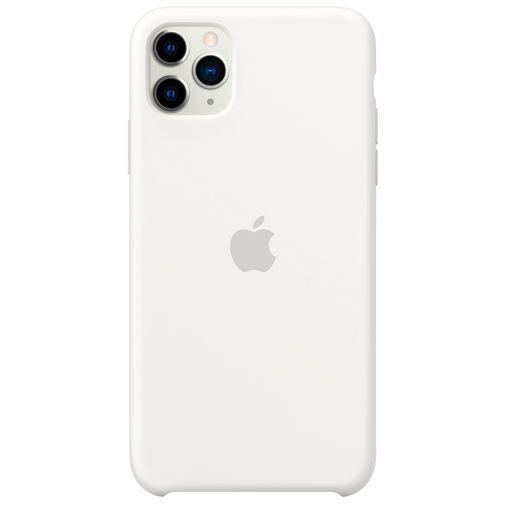 Productafbeelding van de Apple Silicone Case White iPhone 11 Pro Max