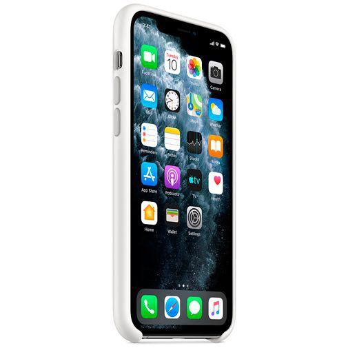 Productafbeelding van de Apple Silicone Case White iPhone 11 Pro