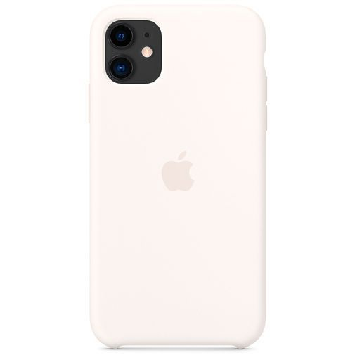 Productafbeelding van de Apple Silicone Case White iPhone 11