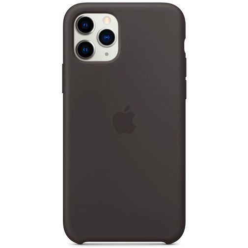 Produktimage des Apple Silikon Case Schwarz iPhone 11 Pro