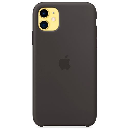 Produktimage des Apple Silikon Case Schwarz iPhone 11