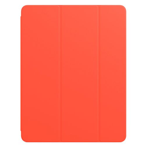 Productafbeelding van de Apple Smart Folio PU-leer Book Case Oranje Apple iPad Pro 2021 12.9