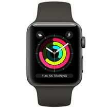 Produktimage des Apple Watch Series 3 Sport 38mm Grey Aluminium (Black Strap)