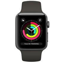 Productafbeelding van de Apple Watch Series 3 Sport 42mm Grey Aluminium (Black Strap)