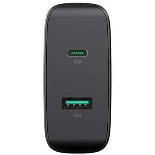 Productafbeelding van de Aukey Dual USB Snellader 46W Black