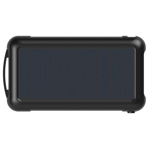 Productafbeelding van de Aukey Solar Powerbank 20.000mAh Black